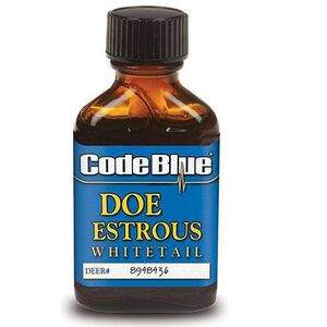 Code Blue Whitetail Doe Estrous Urine 1 oz.