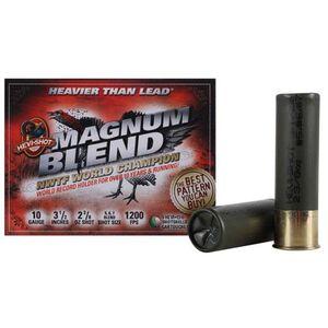 "Hevi-Shot Magnum Blend 10 Gauge Ammunition 5 Rounds 3-1/2"" Shell #5 #6 and #7 HEVI-13 Non-Toxic Lead Free Shot 2-3/8oz 1200fps Turkey Load"