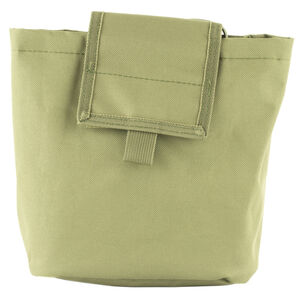 "NcSTAR Folding Dump Pouch 7.5""x8.5""x3.5"" PVC Fabric Green"
