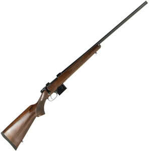 "CZ USA CZ 527 Varmint Bolt Action Rifle 6.5 Grendel 25.60"" Heavy Barrel 5 Rounds American Style Turkish Walnut Stock Blued Finish"