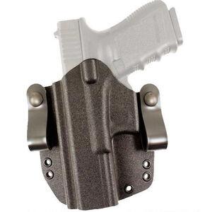 DeSantis Gunhide SL Raptor fits SIG P365 IWB/OWB Holster Left Hand Kydex Black