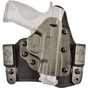 DeSantis Gunhide Infiltrator AIR 1911 Government Full Sized IWB Holster Right Hand Breathable Synthetic and Kydex Black