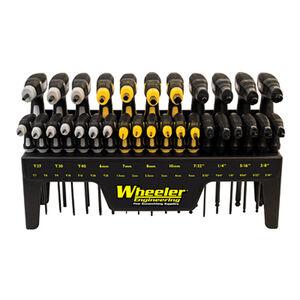 Wheeler 30 Piece SAE/Metric Hex and Torx P-Handle Set