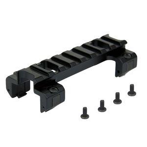 TacFire GSG MP5 Low Profile Picatinny Scope Mount Aluminum Black MMP502