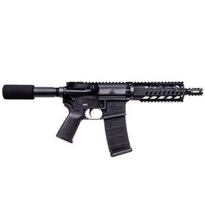 "Diamondback Semi Automatic Pistol 5.56 NATO/.223 Remington 7.5"" Barrel 30 Rounds Polymer Pistol Grip Black Finish DB15PB7"