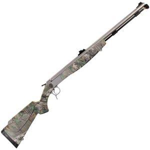 "CVA Optima V2 Northwest Break Action Black Powder Rifle .50 Caliber 26"" Barrel RealTree Xtra Green Synthetic Stock Stainless Steel Finish PR2024S"