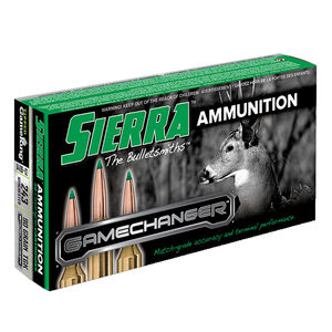 Sierra GameChanger .243 Winchester Ammunition 20 Rounds 90 Grain Tipped GameKing