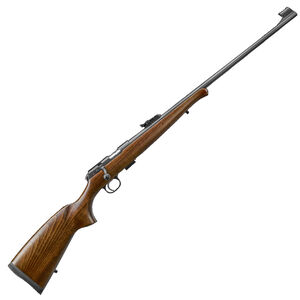 "CZ USA CZ 457 Training Rifle .22LR Bolt Action Rifle 24.8"" Barrel 5 Rounds DBM Beechwood Stock with Schnabel Forend Black Finish"