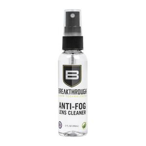 Breakthrough Clean Technologies Anti-Fog Lens Cleaner 2 oz Spray Bottle