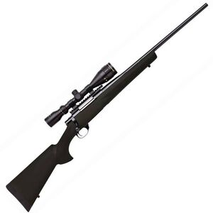 "Legacy Sports International Howa GameKing Package Bolt Action Rifle .243 Win 22"" Barrel 4 Rounds Hogue Synthetic Stock Nikko Stirling 3.5-10x44 LRX AO Scope Black HGK62107"