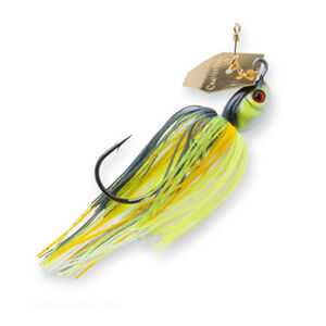 Z-man ChatterBait Projectz Lures 1 oz Weight 6/0 Hook Chartreuse Sexy Shad