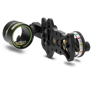 HHA Sports Optimizer Lite Ultra Fiber Optic Bow Sight Exclusive Rheostat Brightness Adjustment DS-5519