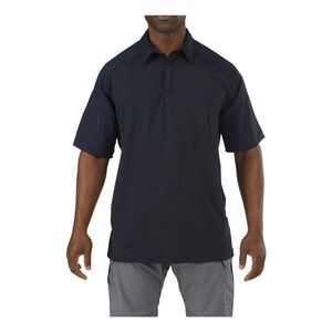 5.11 Tactical Rapid Performance Jersey Polo Black Large
