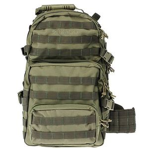 "DRAGO Gear Assault Backpack 20""x15""x13"" 600D Polyester Green 14-302GR"