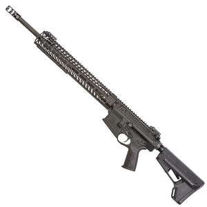 "Spikes Tactical Roadhouse .308 AR Semi Auto Rifle .308 Winchester 20"" Barrel 15"" M-LOK Aluminum Free Float Hand Guard R2 Muzzle Brake Magpul ACS Stock Matte Black Finish"