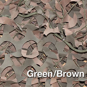 """Camo Unlimited Premium Series Military 9'10""""x33 Yards 3D Leaf Like Foliage Reversible Green and Brown"""
