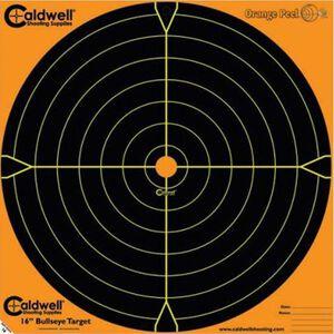 """Caldwell Shooting Supplies Orange Peel Sight In Paper Target 16""""x16"""" 5 Pack 495253"""