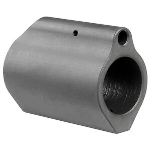 "Midwest Industries AR-15 Low Profile Gas Block .750"" Diameter 4140 Steel Matte Black Finish"