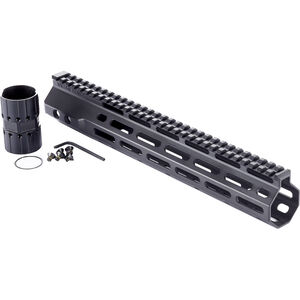 "Wilson Combat LR-308 High Profile MLOK Rail 12.6"" Free-Float Handguard Aluminum Black"