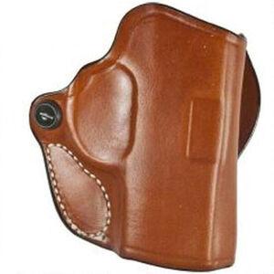 DeSantis Gunhide Mini Scabbard Kimber Solo 9mm Belt Holster Right Hand Leather Tan