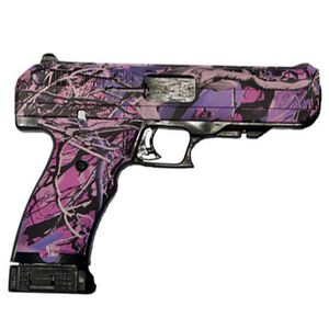 "Hi-Point Semi Auto Pistol .45 ACP 4.5"" Barrel 9 Rounds Polymer Frame Pink Camo 34510PI"