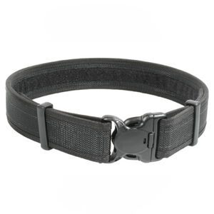 "BLACKHAWK! Reinforced 2"" Duty Belt With Loop Inner Surface Size Medium 32"" to 36"" Waist Web Nylon Finish Matte Black"