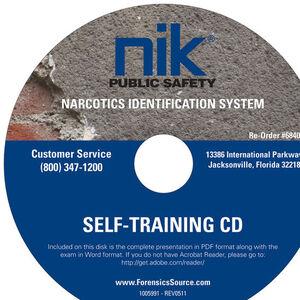 Safariland NIK Public Safety Narcotics Identification System Self Training CD EA