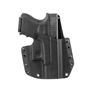 Mission First Tactical OWB Holster For GLOCK 26/27 Right Hand Polymer Black HGL26OWB-BL