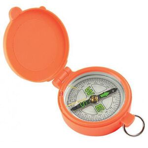 Allen Pocket Compass With Lid Orange