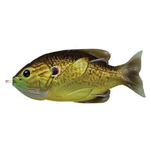 """Sunfish Hollow Body 3"""", Numner 3/0 Hook Size, Topwater Depth, Bronze Pumpkinseed"""
