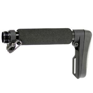 DoubleStar ACE Ultralight AR-15 Entry Length Stock With Buffer Tube Matte Black A145B