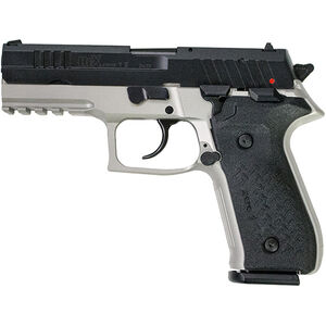 "FIME Group Rex Zero 1S 9mm Luger Semi Auto Pistol 4.3"" Barrel 17 Rounds Metal Frame Two Tone Grey/Black Finish"