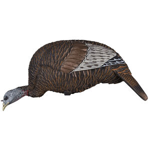 Flextone Thunder Chick Feeder Decoy 3 D Rubber Life Size Realistic Female Turkey