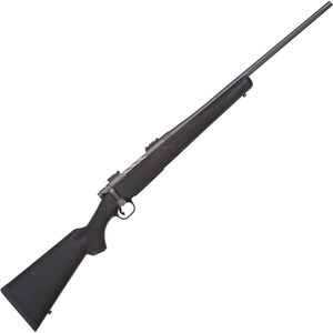 "Mossberg Patriot Synthetic Cerakote 7mm Rem Mag Bolt Action Rifle 22"" Fluted Barrel 3 Rounds Black Synthetic Stock Cerakote Stainless Finish"