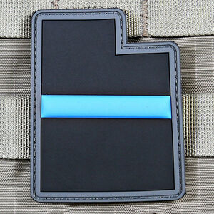 "Violent Little Machine Shop ""Thin Blue Line"" State of Utah Morale Patch"