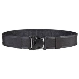 "Bianchi 7220 Nylon Duty Belt 26-32"" Waist 2"" Wide Quick Release Buckle Hook Lining Five Part Laminate Black 25105"