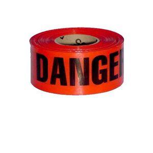 """Pro-Line Barricade Tape 1000' """"Danger"""" Tape 3"""" Width BT3RDANGER"""