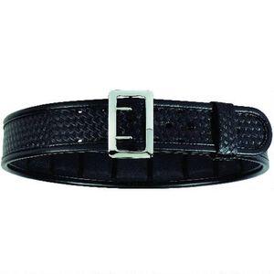 "Bianchi Sam Browne 2.25"" Belt Size 36-38"" B-Weave Black"