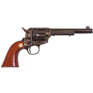 "Cimarron Model P Jr Revolver 38 Special 5.5"" Barrel 6 Rounds Walnut Grip Blued"