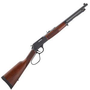 "Henry Big Boy Steel Carbine Lever Action Rifle .45 Long Colt 16.5"" Round Barrel 7 Rounds Steel Receiver Large Loop Lever American Walnut Stock Blued Barrel"