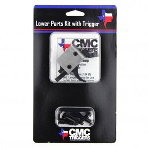 CMC Triggers Complete AR-15 Lower Receiver Parts Kit with 3.5lb Single Stage Curved Trigger