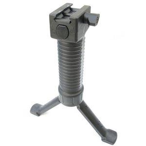 Grip Pod Systems AR-15 Vertical Forward Grip Law Enforcement Model Polymer Legs Picatinny Cam Lever Mount Polymer Black GPS-LE-CL