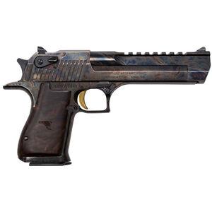 "Magnum Research Desert Eagle Mark XIX Semi Auto Pistol .357 Magnum 6"" Barrel 9 Rounds Fixed Combat Sights Weaver Accessory Rail Case Hardened Finish"