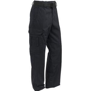 Elbeco ADU Ripstop EMT Men's Pants Size 32 Unhemmed Polyester Cotton Ripstop Midnight Navy