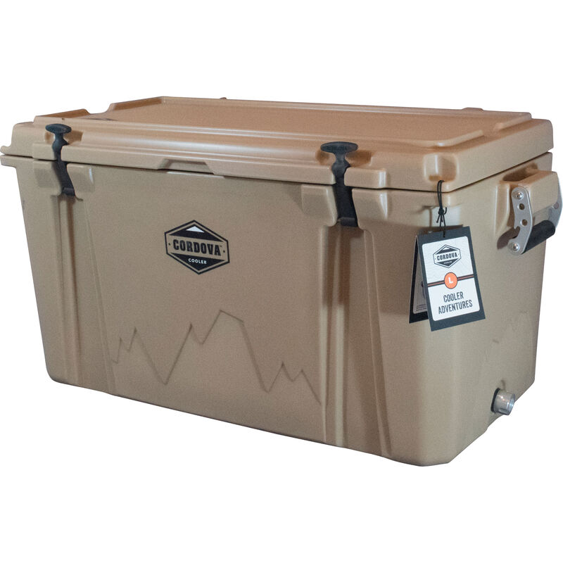 Cordova 100 Large Cooler, 88 Quarts, Sand