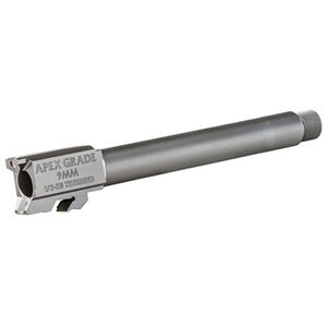 """Apex Tactical Apex Grade 5"""" Drop-In Threaded Replacement Barrel for S&W M&PL 9mm Luger Stainless Steel"""