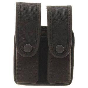 Uncle Mike's GLOCK .45, 10mm HK Double Magazine Case Black Cordura