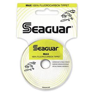 "Seaguar Max Fluoro Tippet Fly Fishing Fluoro Line, .008"" Diameter 7.60 lb Tested 30 Yds"
