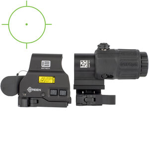 EOTech Holographic Hybrid Sight, Green EXPS2-0GRN with a G33 Magnifier