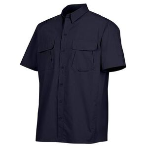 Dickies Ventilated Short Sleeve Tactical Shirt Cotton/Polyester Ripstop Medium Midnight Blue LS953MD M